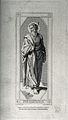 Saint Barnabas. Steel engraving by F. Keller after J. F. Ove Wellcome V0031662.jpg