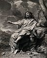 Saint John the Evangelist. Engraving by N. de Poilly after C Wellcome V0032398.jpg