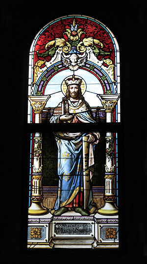 Leopold III, Margrave of Austria - Image: Saint Leopold III Margrave of Austria (Church at Gaaden)