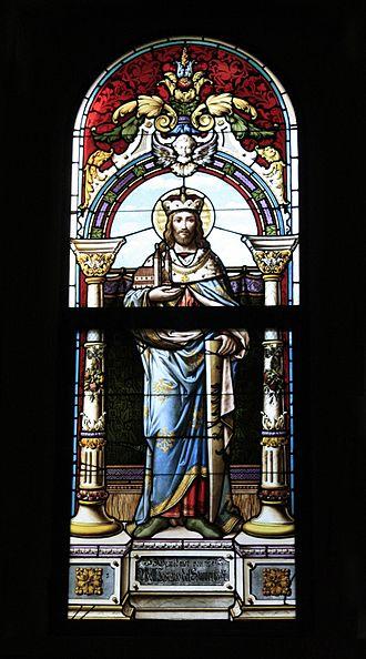 Leopold III, Margrave of Austria - Image: Saint Leopold III Margrave of Austria (Church at Gaaden)