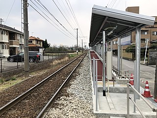 Sakaemachi Station (Toyama) Railway station in Toyama, Toyama Prefecture, Japan