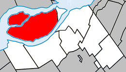 Salaberry-de-Valleyfield – Mappa