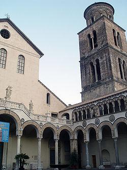 Quadriportico del Duomo di Salerno