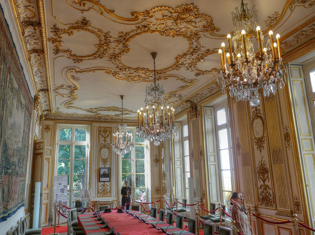 Hotel Matignon Paris Garten