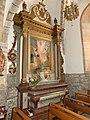 Salmiech église St-Amans chapelle retable.jpg