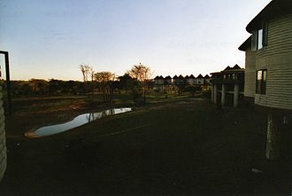Taita–Taveta County - Salt Lick Lodge in the evening