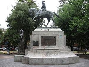 Mercedes, Buenos Aires - Image: San Martín en Mercedes