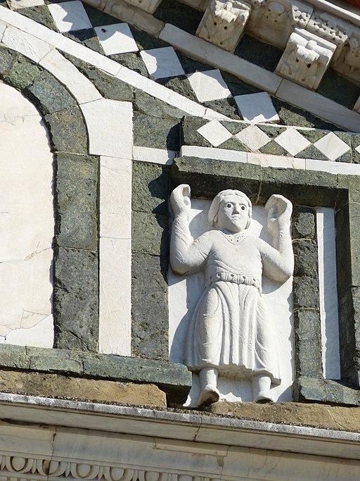 San Miniato al Monte, exterior, Florencia, Italia, 2019 17