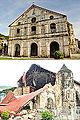 San Pedro Apostol Parish Church, Loboc, Bohol (Before and After 2013 Bohol Earthquake).jpg