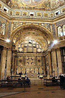 L'altare centrale
