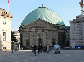 St. Hedwig's Cathedral - St. Hedwig's at the Bebelplatz