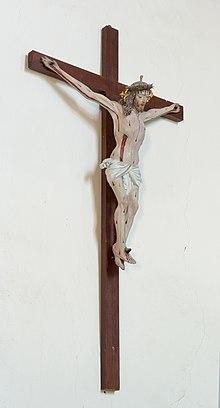 Sankt Magdalena Kirche in Dreikirchen Kruzifix.jpg