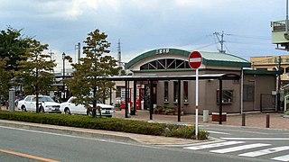 Sanrigi Station Railway station in Kikuyō, Kumamoto Prefecture, Japan