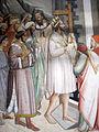 Santa croce, int., cappella maggiore, agnolo gaddi e bottega, affreschi 05.JPG