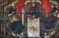 Santo Agostinho de Hipona e Frei Francisco de Santo Agostinho Macedo, séc. XVIII (Convento de Santo António, Recife, Pernambuco).png