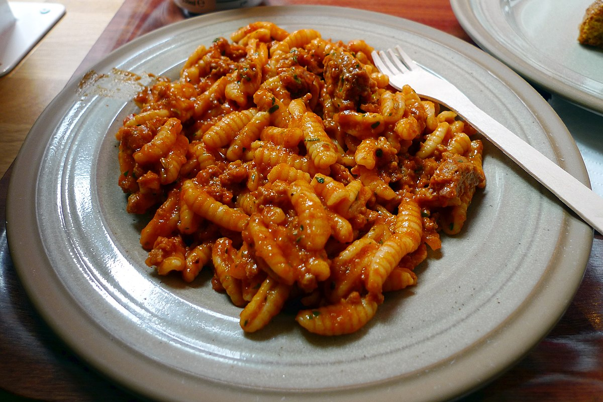 Malloreddus wikipedia for Cucina tipica sarda