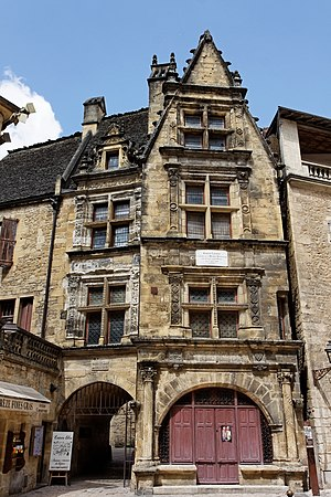 Étienne de La Boétie - Image: Sarlat Maison de la Boétie PA00082964 002