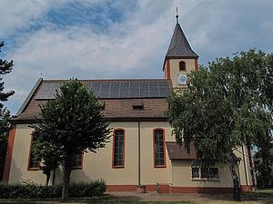 Sasbach am Kaiserstuhl - Image: Sasbach, die Sankt Martin Kirche foto 1 2013 07 24 15.04