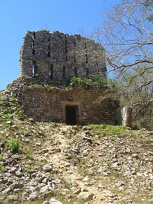 Sayil - The ruined El Mirador temple