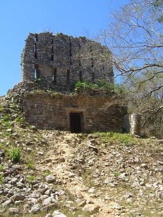 Sayil - The ruined El Mirador temple