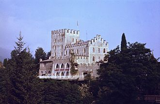 Battle for Castle Itter - Schloss Itter (Castle Itter) in 1979