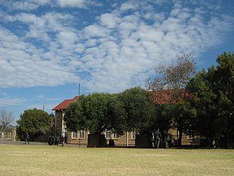 St Catherine's School, Germiston - The new wing of St Catherine's School seen from the sports field.