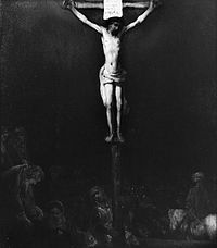 School of Rembrandt - Crucifixion - 1955.840.jpg