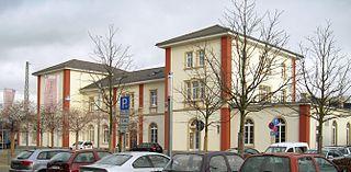 Schwetzingen station railway station in Schwetzingen, Germany