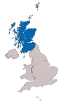 Location map of Scottish Football Association.