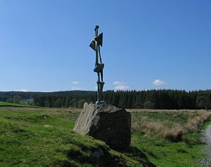 Standing Figure: Knife Edge - Standing Figure (1950)