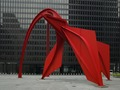 "Sculpture ""Flamingo"" at Federal Center Plaza, John C. Kluczynski Federal Building, Chicago, Illinois LCCN2010719971.tif"
