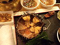 Sea urchin dish in Tianjin, China.jpg