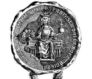 Przemysł II King of Poland from 1295 to 1296