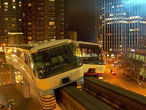 Seattle Center Monorail - Image: Seattle Monorail Accident