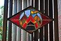 Seattle - Sephardic Bikur Holim Congregation - stained glass at entrance 01.jpg