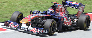 Toro Rosso STR6 racing automobile