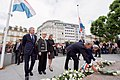 Secretary Kerry Lays Flowers at Monument of Remembrance in Luxembourg City (28243057742).jpg