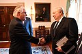 Secretary Tillerson Greets Russian Ambassador Kislyak Before His Meeting With Russian Foreign Minister Lavrov (34411963922).jpg