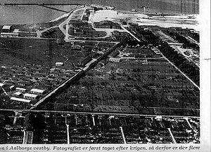 Seefliegerhorst Aalborg - Seaplane Base Aalborg right after end of WW II
