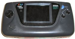 Sega Game Gear kontsola.