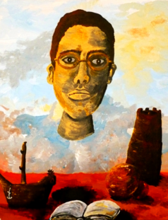 Self-Portrait, with Objects.