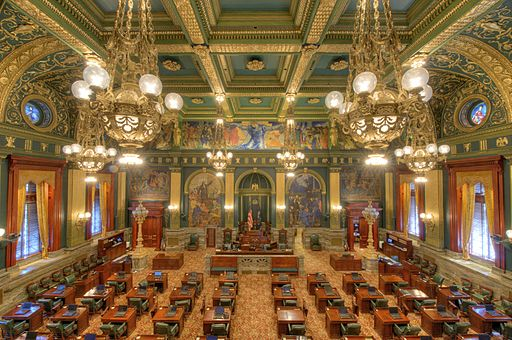 Senate Chamber, Pennsylvania State Capitol Building