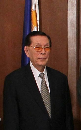 Philippine Senate election, 2013 - Image: Senate President Juan Ponce Enrile