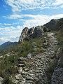 Sender empedrat de la Foradà, la Vall de Gallinera.JPG