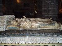 Sepulcro de Carlos III de Navarra y de su esposa, la reina Leonor de Trastámara. Catedral de Pamplona.JPG