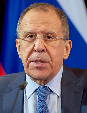 Minister of Foreign Affairs (Russia) - Image: Sergey Lavrov February 2016