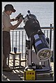 Setting up Telescope for Solar Eclipse-02 (8183800897).jpg