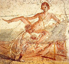 Sexual scene on pompeian mural.jpg