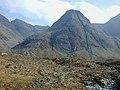 Sgùrr an Fheadain seen from Coire na Creiche - geograph.org.uk - 1777576.jpg