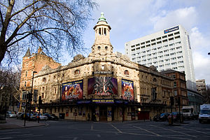 Rock of Ages (musical) - Rock of Ages at the Shaftesbury Theatre, January 2012